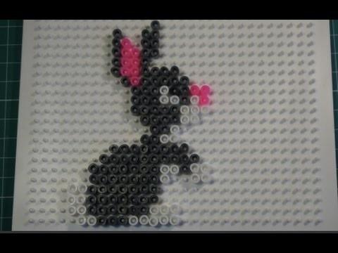 Hama. Perler Beads - Bunny