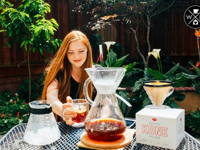 Home is where you drink your coffee: Episode 1.5 | Japanese Method Iced Coffee + Able Kone