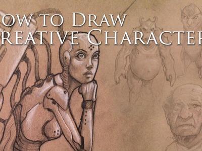 How I Draw Creative Characters
