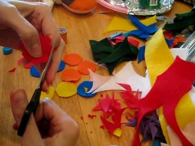 How to make a Felt Flower