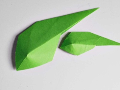 How To Make An Origami Leaf - DIY Crafts Tutorial - Guidecentral