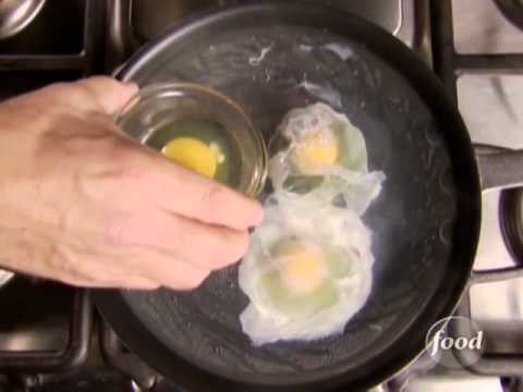 How To Poach An Egg Alton Brown Shows You How