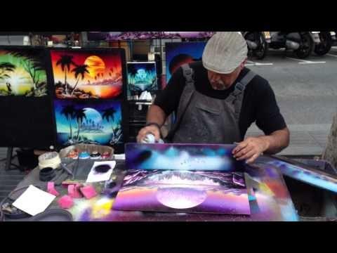 Las Ramblas Spraypaint Art 22.06.13 1080p [HD]