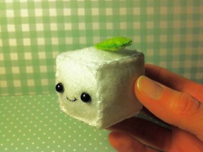 Making a Cute Tofu Plushie