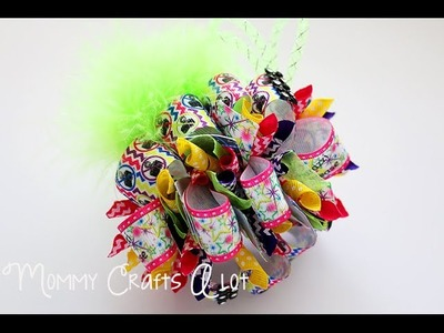 No Paparazzi! loopy hairbow tutorial.HOW TO MAKE HAIRBOWS