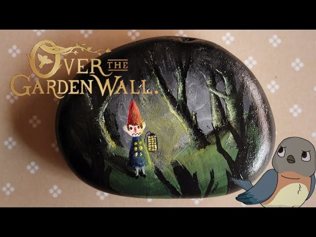Painting Over the Garden Wall Rocks!