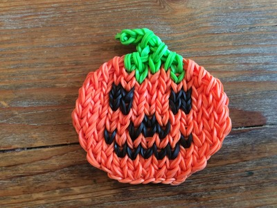 Rainbow Loom Nederlands, pompoen (pumpkin mural without border)