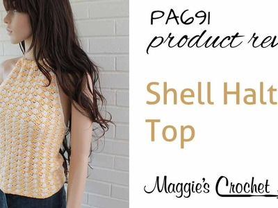Shell Halter Top Crochet Pattern PA691 Product Review