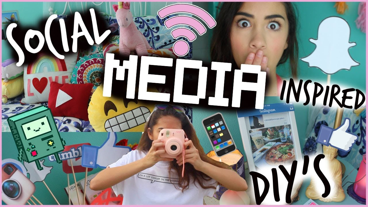 Social Media Inspired DIY's! Decor, Treats and More!