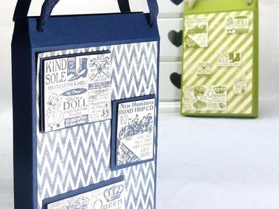 Stampin Up UK Shopping Bag Card Holder
