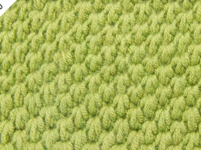 The Tunisian Ocean Stitch:: Tunisian Crochet Stitch #12 :: Left Handed