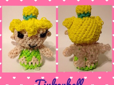 Tinker Bell Loomigurumi. An inspiration from Disney and Hallmarks itty bittys.
