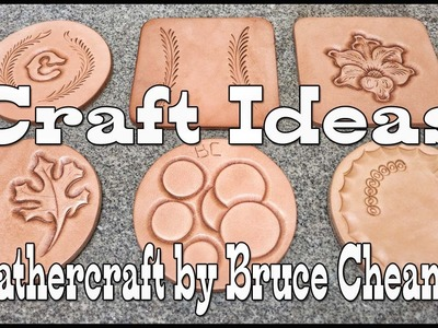 Carving Leather - carve leather for fun and practice - leathercraft tutorial - craft ideas