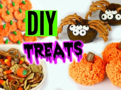 DIY Halloween Treats 2015 ! Yummy Pinterest Inspired Treats!
