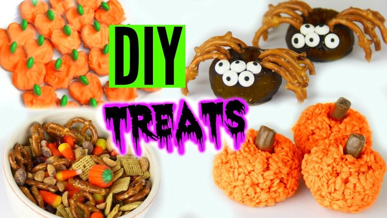 DIY Halloween Treats 2015 ! Yummy Pinterest Inspired Treats!
