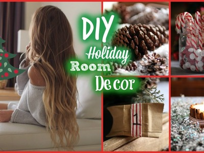 DIY Holiday Room Decor. Tumblr Inspired