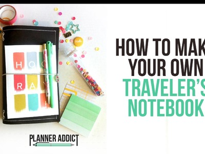 DIY Midori: Traveler's Notebook- Start to finish!