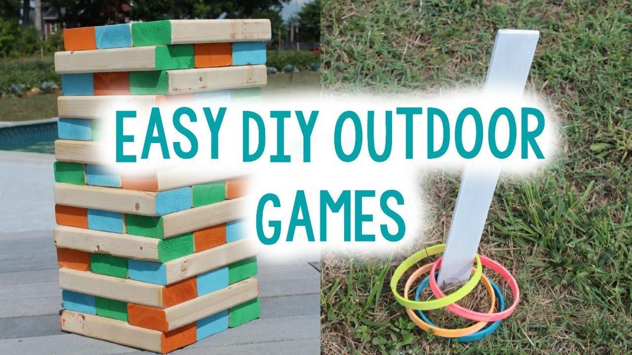DIY Outdoor Game Ideas | Tanner & Courtney