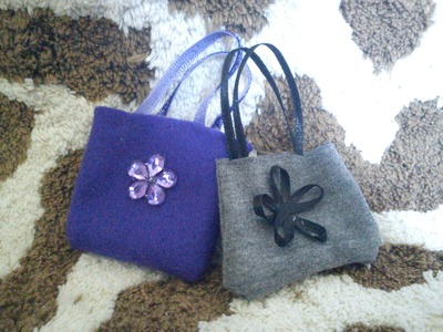 Doll Fashion: How To Make a Doll Purse. Handbag