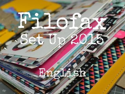 Filofax Planner Set up 2015 {[English]}