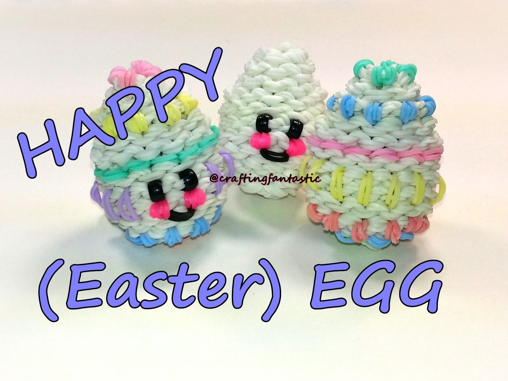 Happy (Easter) Egg Tutorial by feelinspiffy (Rainbow Loom)