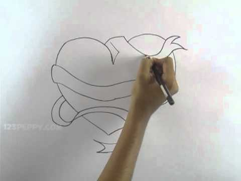 How to Draw a Fantasy Heart