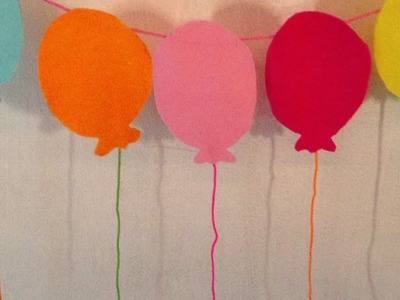 How To Make A  Balloon Garland For Birthday Parties - DIY Home Tutorial - Guidecentral