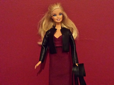 How to Make a Dolls Leather Jacket and Fringe Clutch