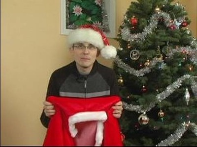 How to Make a Santa Claus Costume : Where to Find a Santa Costume
