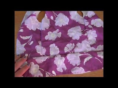 How to make a summer dress for AG dolls part 2