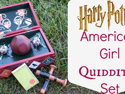How to make American Girl Quidditch Set