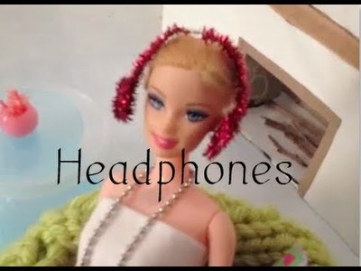 How to Make Doll Earmuffs.Headphones