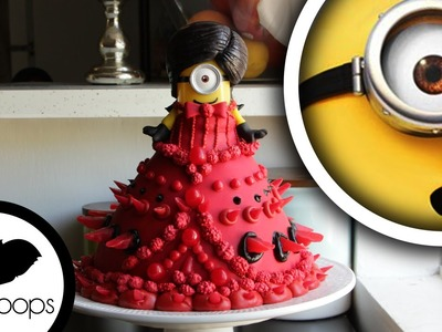 How to make Minions Doll Cake