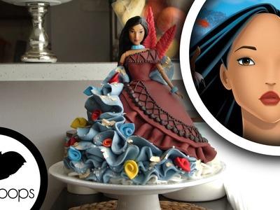 How to make Pocahontas Doll Cake