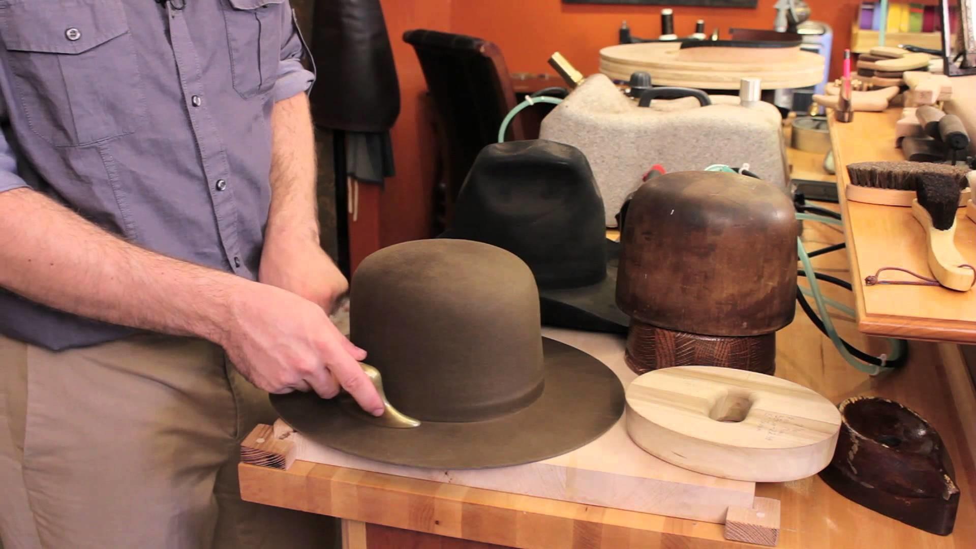 How to Restore Felt Hats : Felt Hats
