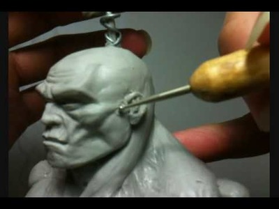 How To Superhero Action Figure Anatomical Tutorial Sculpting Part 13 of X
