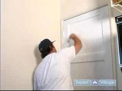 How to Update an Old Door : How to Paint a Door