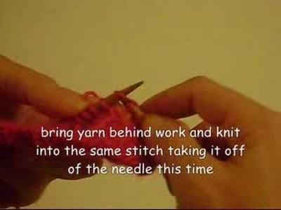Knitting Techniques: Bramble