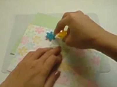 Ku-Ku CARD-Pop up Bouquet (Buqué)