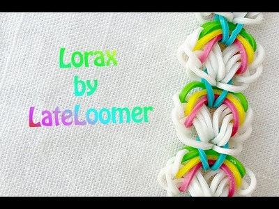 No Loom: Rainbow Loom Lorax Bracelet Tutorial