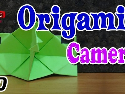Origami - How To Make CAMERA - Simple Tutorial In English