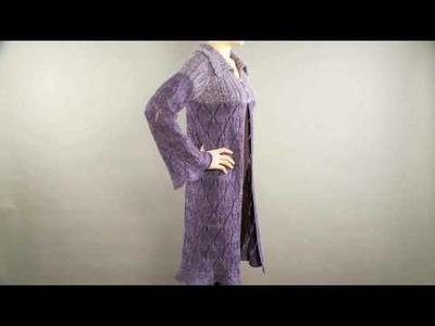 #15 Lace Coat, Vogue Knitting Holiday 2008