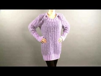 #29 Ribbed Tunic, Vogue Knitting Holiday 2008