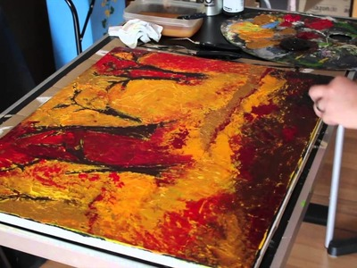 Acrylic Painting - Fall