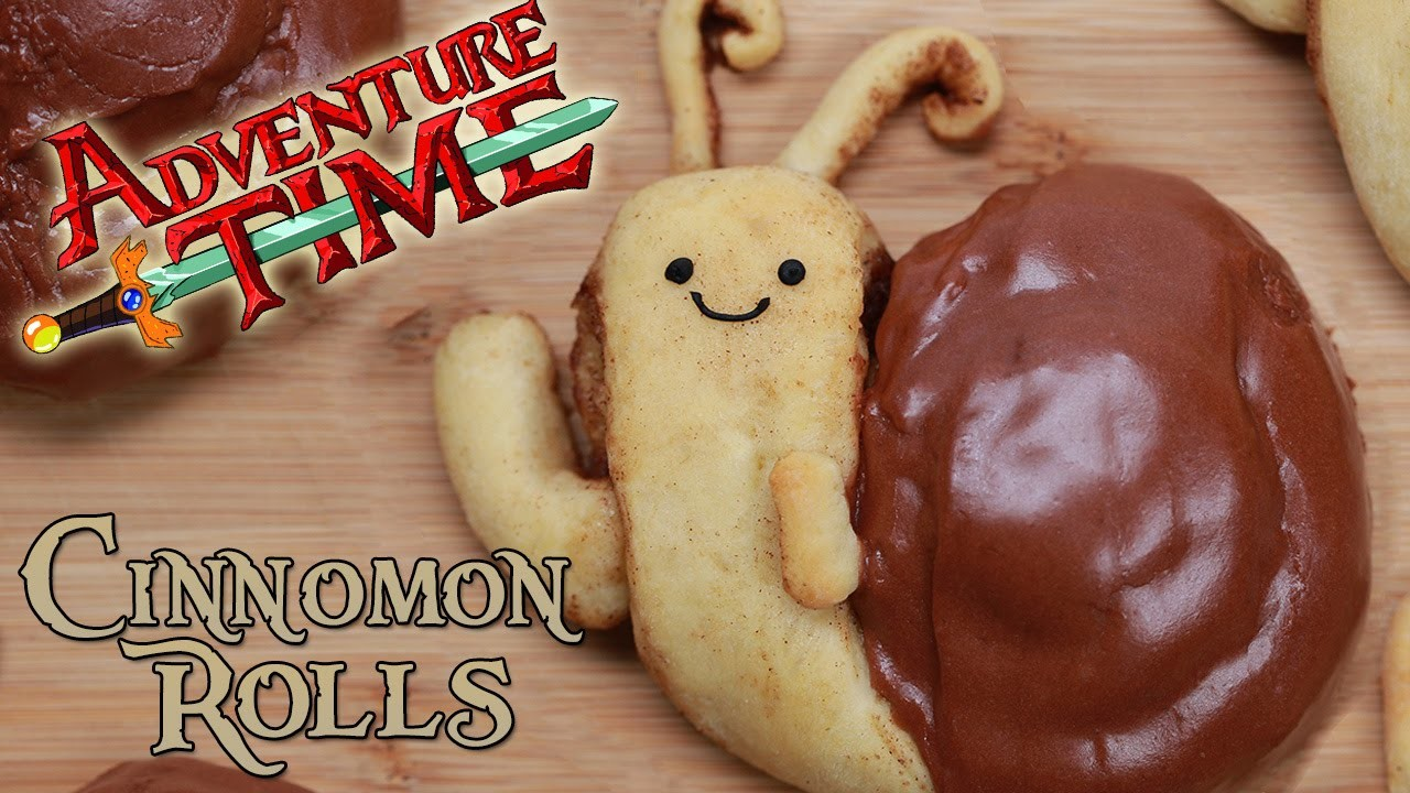 ADVENTURE TIME SNAIL CINNAMON ROLLS - NERDY NUMMIES