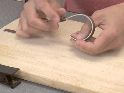 Artbeads Mini Tutorial - Twisted Split Leather Bracelets with Devin Kimura