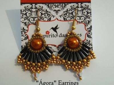 """DIY: """"Ágora"""" Set (Part 1) - Earrings Tutorial"""