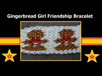 ► Friendship Bracelet Tutorial - Advanced - Gingerbread Girls (original)