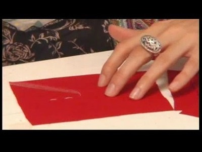 Hand Sewing Stitches : Basic Running Stitch