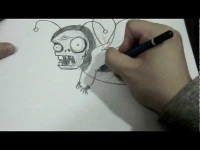 How I Draw Bumble Bee Zombie Plants vs Zombies